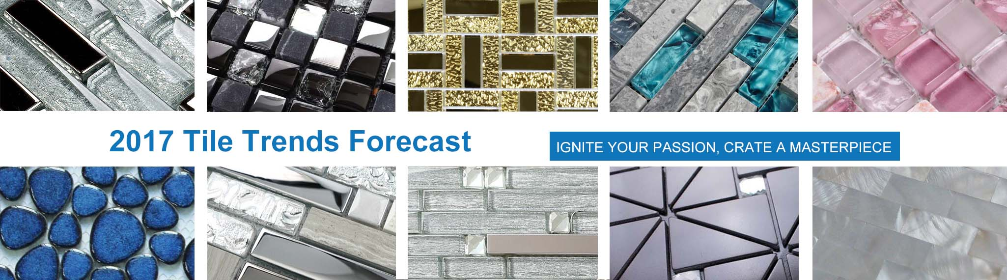 2017 tile trends forecast - super deals mosaic