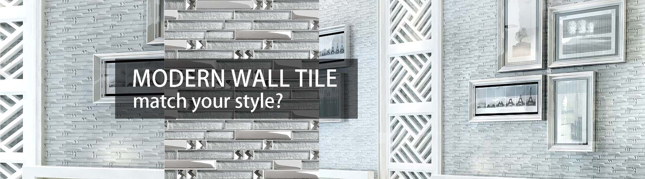 silver coated glass tile wall backsplash mosaic tile