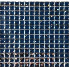Diamond Mirror Crystal Glass Mosaic Tile Kitchen Navy Blue Backsplash 3d Bathroom Tiles GLTD01