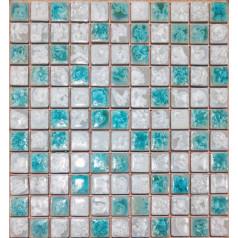 Porcelain Tile Mosaic Square Shower Tiles Kitchen Backsplash Wall Sticker Bathroom Bedroom Tiles