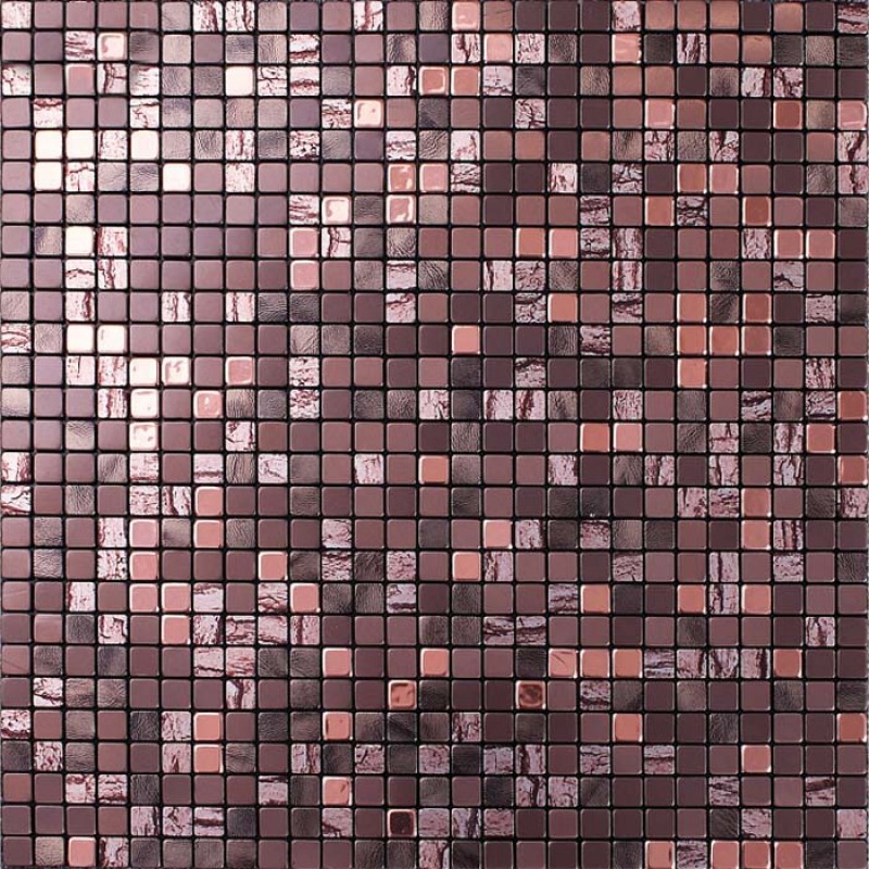 Wholesale Metallic Mosaic Tile Sheets Aluminum Interior Wall Paneling Bathroom Floor Sticker