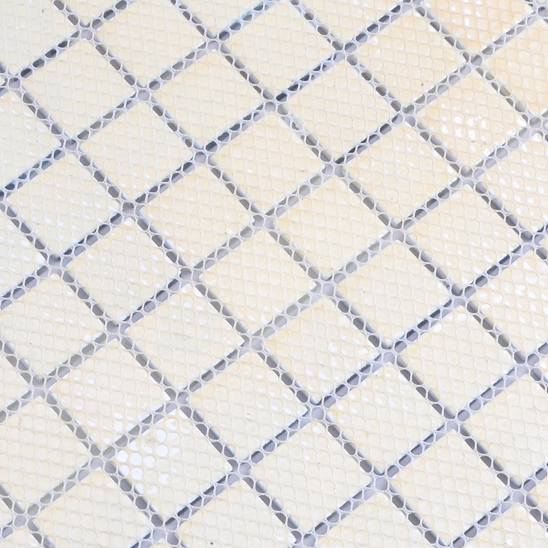 Crystal Glass Tile Blue And White Puzzle Mosaic Tile Crackle Crystal