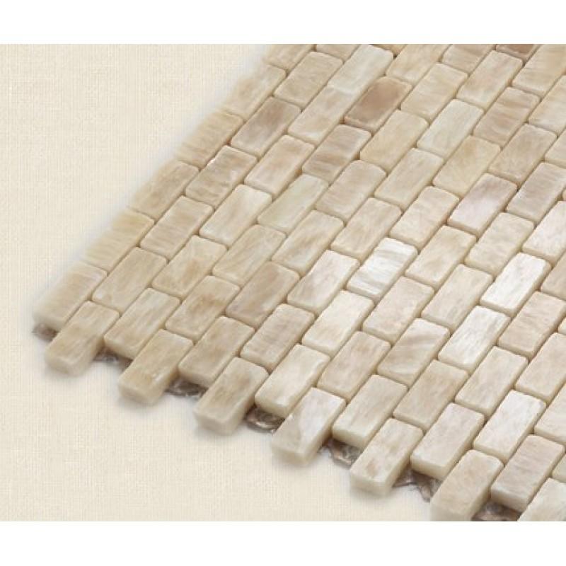 Subway Tiles Natural Stone Mosaic Kitchen Wall Tile Hand