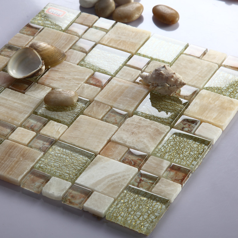 how to cut glass tile sheets