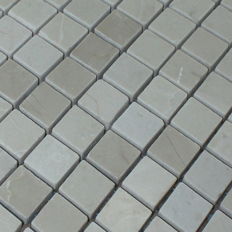 Kitchen Tiles Square: Stone Mosaic Tile Square Grey Pattern Washroom Wall Marble