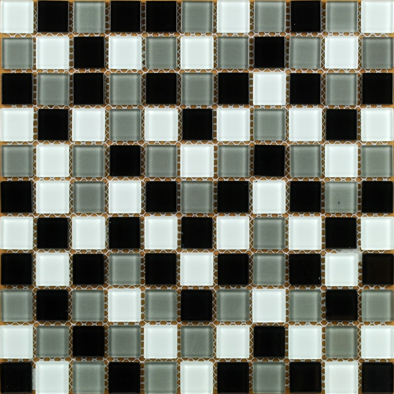 Wholesale Vitreous Mosaic Tile Crystal Glass Backsplash Washroom Design Bathr