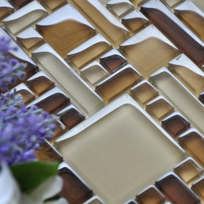 wholesale mosaic tile crystal glass backsplash kitchen
