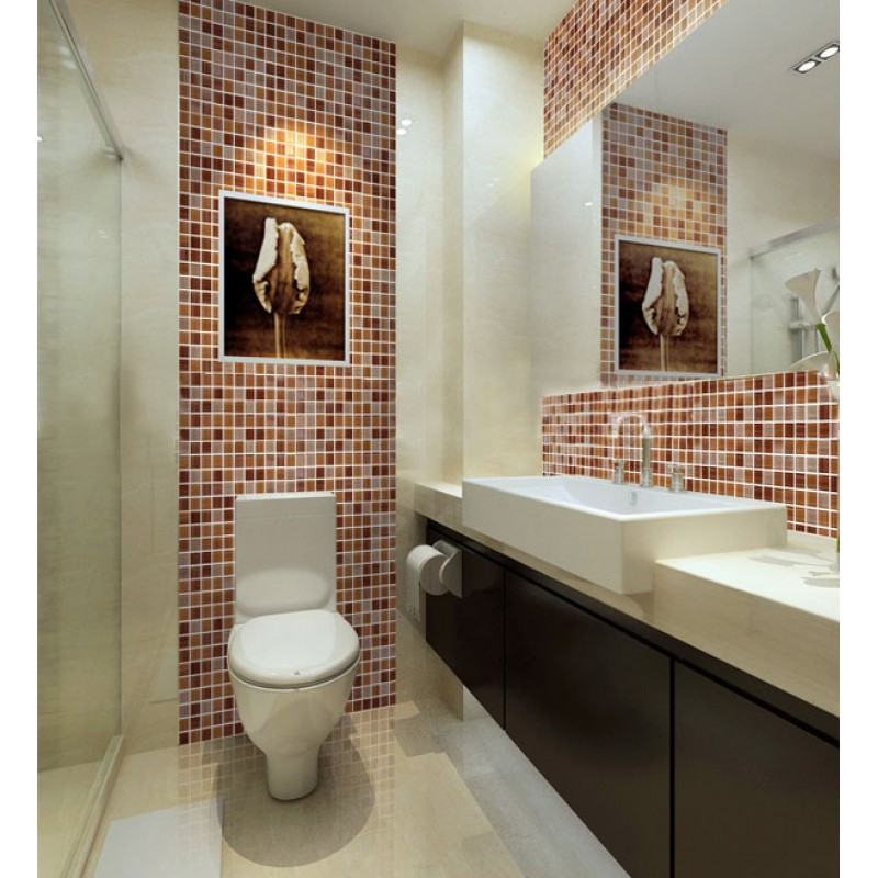 Mosaic Bathroom Tile Ideas: Wholesale Crystal Glass Tile Backsplash Kitchen Ideas Hand