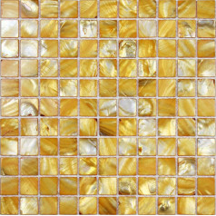 Gold Mother of Pearl Tile Kitchen Backsplash Stained Shell Mosaic Square 12x12 Wall Bathroom Tiles