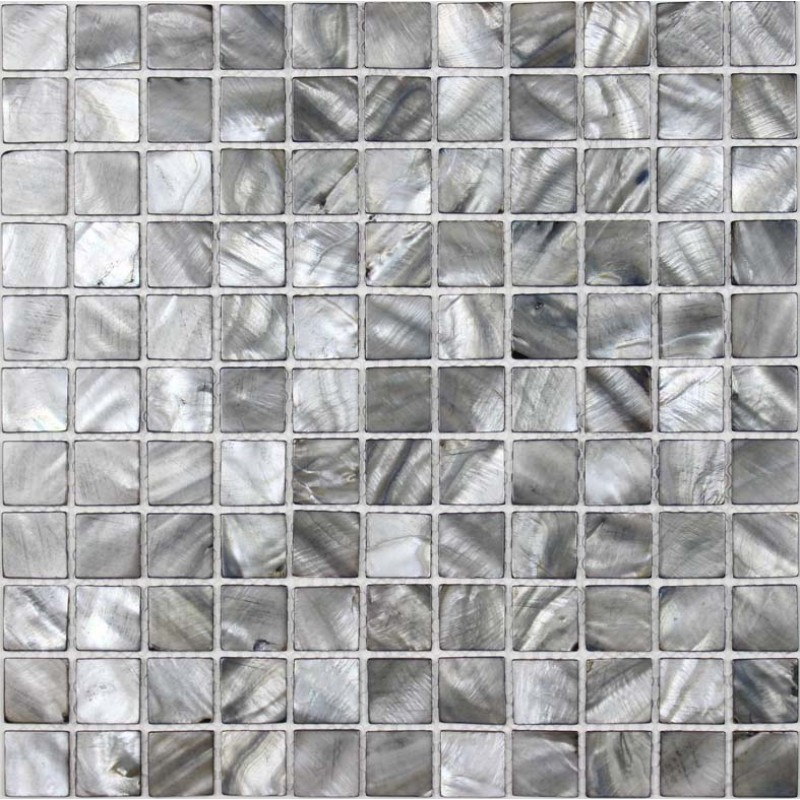 Pearl Grey Kitchen: Shell Tiles 100% Grey Seashell Mosaic Mother Of Pearl
