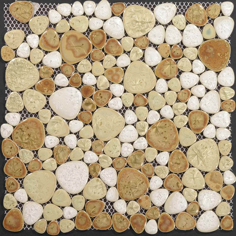 Wholesale Heartshaped Mosaic Art Collection Mixed Porcelain