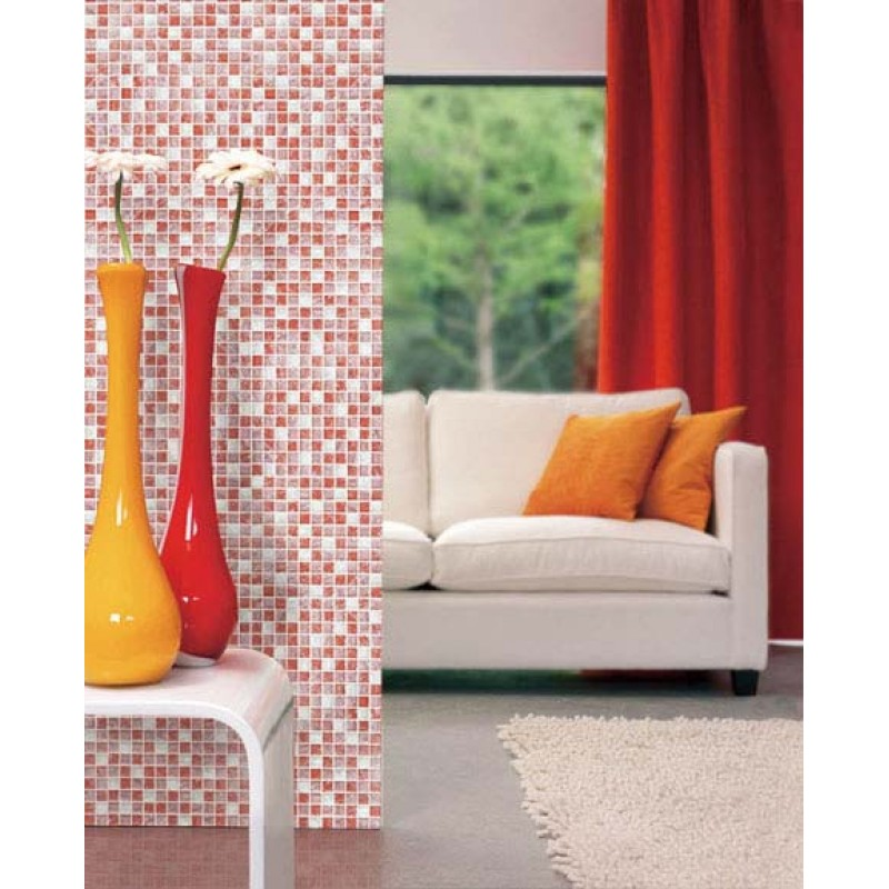 Wholesale Vitreous Mosaic Tile Crystal Glass Backsplash Washroom