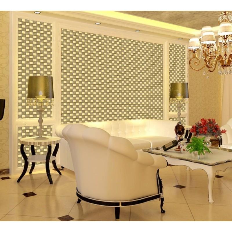 Wholesale Mosaic Tile Crystal Glass Backsplash Dining Room Design ...