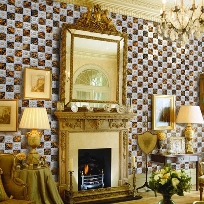 Wholesale Porcelain Glass Tile Wall Backsplash Fireplace Crystal Art ...