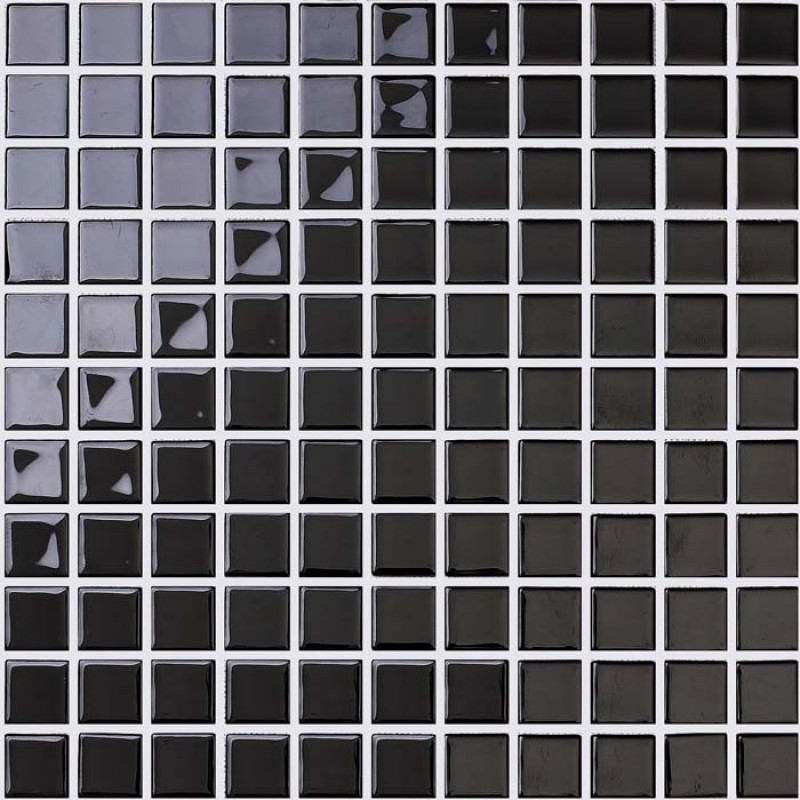 Wholesale glass mosaic for swimming pool tile sheet black for Swimming pool wall tiles