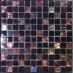 Iridescent Bathroom Tile Brown Glass Mosaic Sheet Metal Tiles Cheap Backsplash Ideas