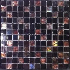 Iridescent Bathroom Tile Brown Glass Mosaic Sheet Metal Tiles Cheap Backsplash Ideas