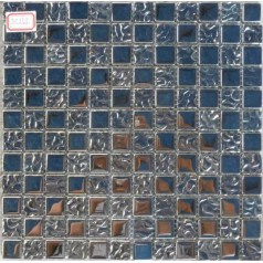 Cheap Glass Tiles For Kitchen Backsplashes Plated Crystall Glass Mosaic Back Spash