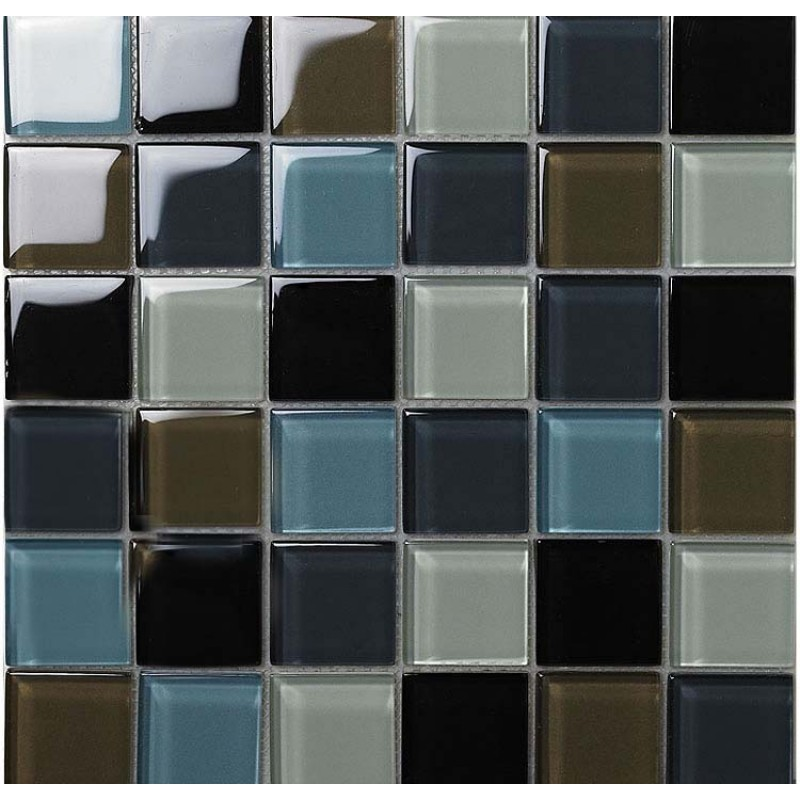 Black peel and stick floor tiles