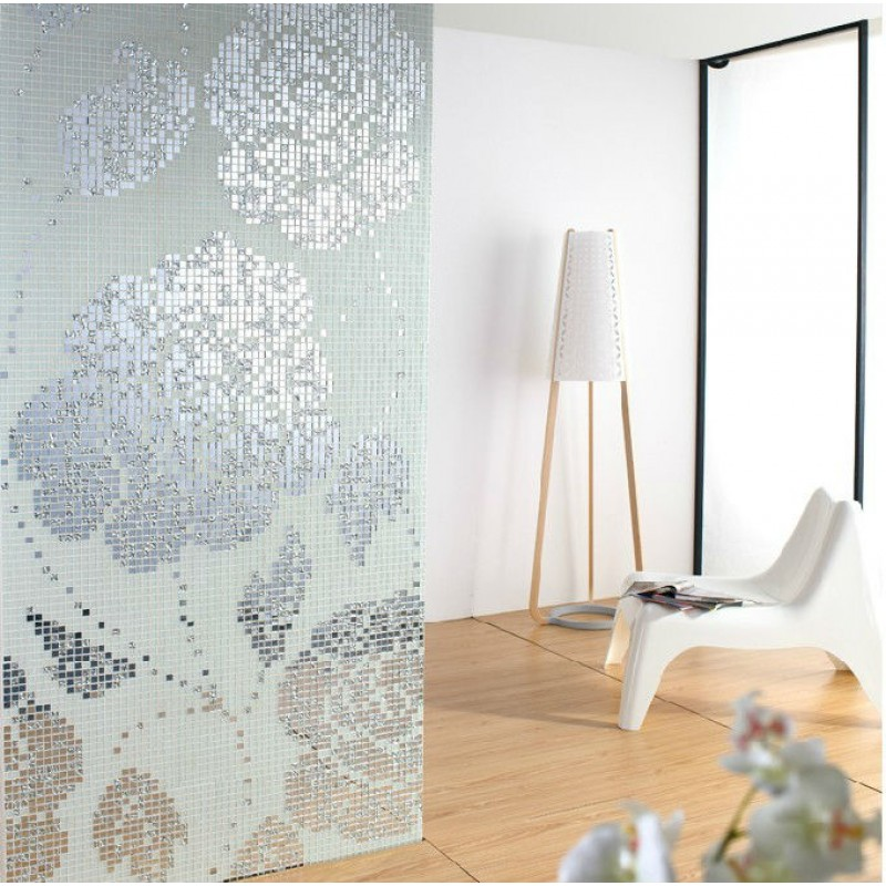 Crystal Glass Backsplash Wall Tiles Puzzle Mosaic Tile