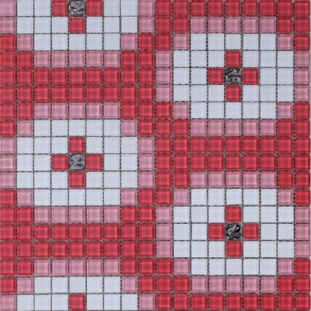 Glass Mosaic Tile Murals Crystal Backsplash Wall Tiles