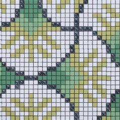Glass Mosaic Tile Crystal Backsplash Wall Tiles Puzzle Mosaic Tile cream white Glass Tile  pt19