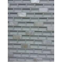 Mosaic Glass Tile Backsplash Kitchen Wall Tiles Natural Mother Of Pearl Subway Tiles