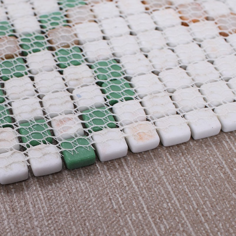 vitreous mosaic tile pattern glazed crystal glass backsplash kitchen design art bathroom wall tiles