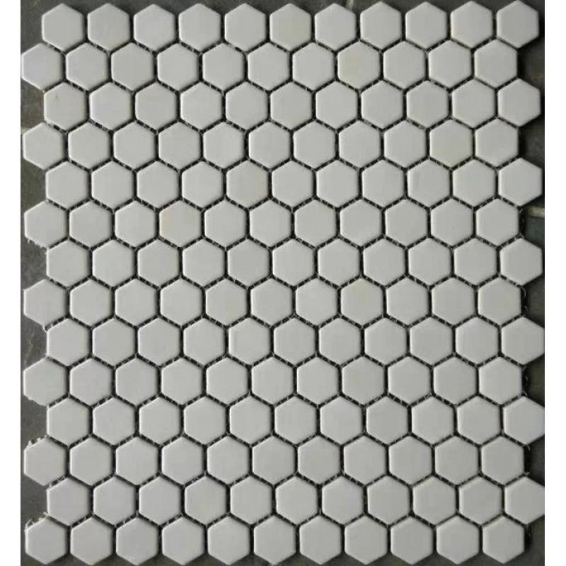 Glazed Hex Ceramic Floor Tile