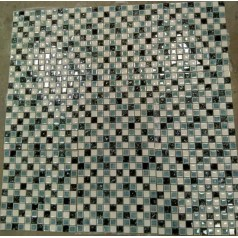 "Glossy Glass Tiles For Bathrooms 7/8"" Small Wall Tiles Kitchen Backsplash Cheap"
