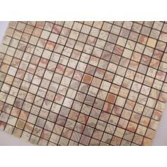 Adhesive Mosaic Tile Kitchen Backsplash Gold Aluminum Metal And Glass Diamond Peel And Stick Tiles Tile