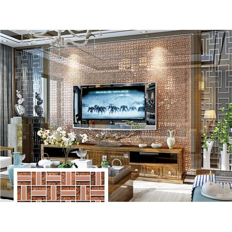 Tea Crystal Glass Tiles Metal Tile Rose Stainless Steel Backsplashes Wall  Tiles Kitchen KLGT403