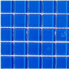Mosaic Tile Crystal Glass Backsplash Washroom Design Bathroom Wall Floor Swimming Pool Tiles Blue