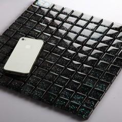 Glass Mosaic Tiles Blacksplash Crystal Mosaic Tile Bathroom Wall Colors Stickers Cheaper tiles 661