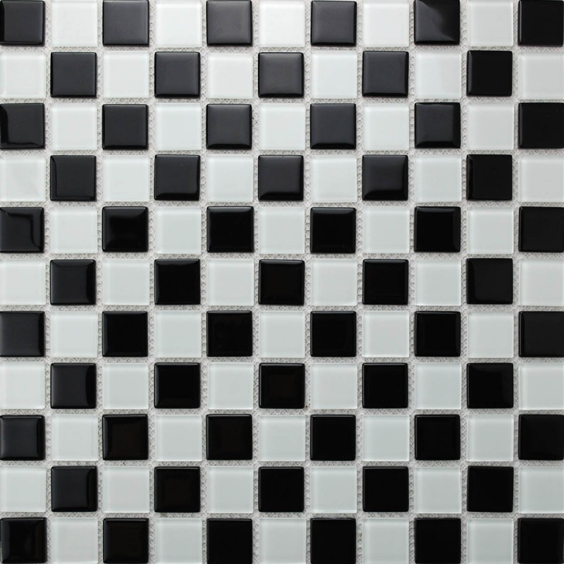 Glass Mosaic Tiles melted Crack Crystal Backsplash Tile Bathroom ...