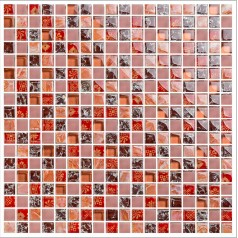 crackle crystal glass tile shower wall backsplashes frosted pink glass tiles mosaic bathroom mirrored wall decor KLGT1502