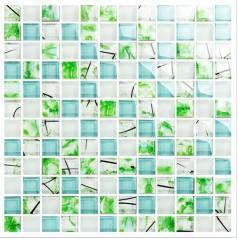 green tile backsplash ceram crystal glass tile shower tile wall backsplashes decor KLGT2303