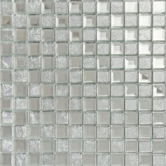 silver mirror glass tile crystal tile square wall backsplashes tiles bathroom shower tile washroom wall KLGT4017