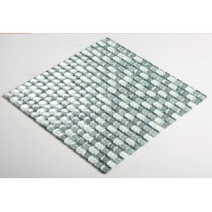 Glass Mosaic Tiles Blacksplash Crystal Backsplash Tile Bathroom Wall Tiles Designs S161