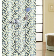 Crackle Glass Mosaic Tiles Blacksplash Ice Cracked Crystal Backsplash Tile Bathroom Wall Tiles S309