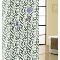 Crackle Glass Mosaic Tiles Blacksplash Ice Cracked Crystal Backsplash Tile Bathroom Wall Tiles S309