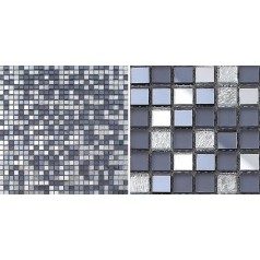 Glass Mosaic Tiles Mirrored Crystal Backsplash Tile Bathroom Wall Tile Mirror Stickers Z186