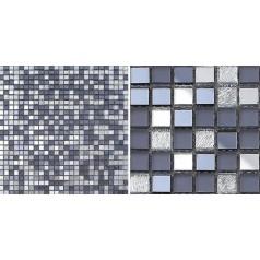 Glass Mosaic Tiles Mirrored Crystal Backsplash Tile Bathroom Wall Tile Mirror Stickers Z186