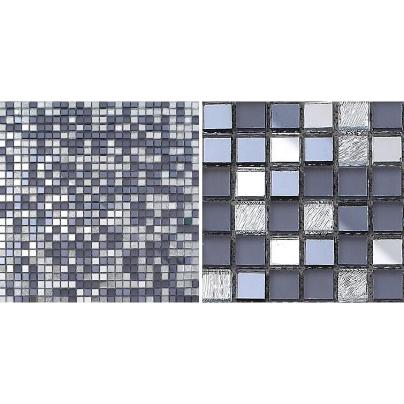 glass mosaic tiles mirrored crystal backsplash tile bathroom wall tile