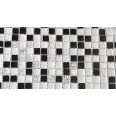 Glass Mosaic Tiles Blacksplash Crystal Backsplash Tile Bathroom Wall Tile Crack Mirror Stickers Z188