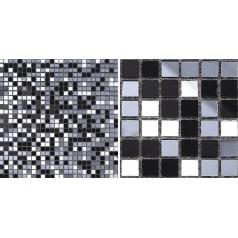 Glass Mosaic Tiles Mirrored Crystal Backsplash Tile Bathroom Wall Tile Mirror Stickers Z189