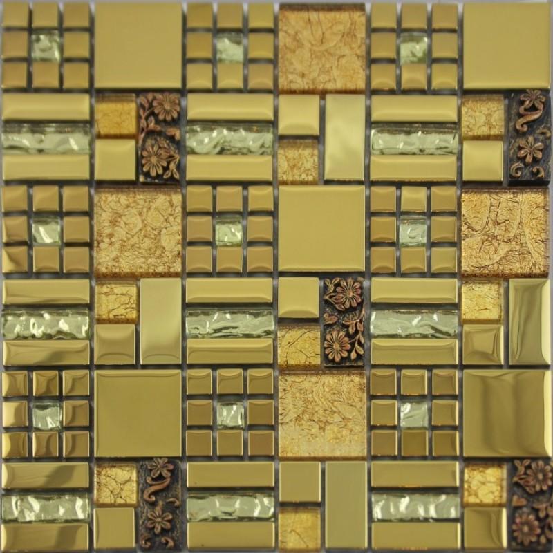 glass mosaic tiles tile bathroom wall
