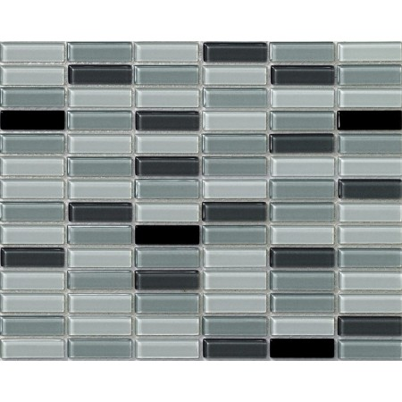 crystal glass tile uniform brick rectangle kitchen backsplash tiles