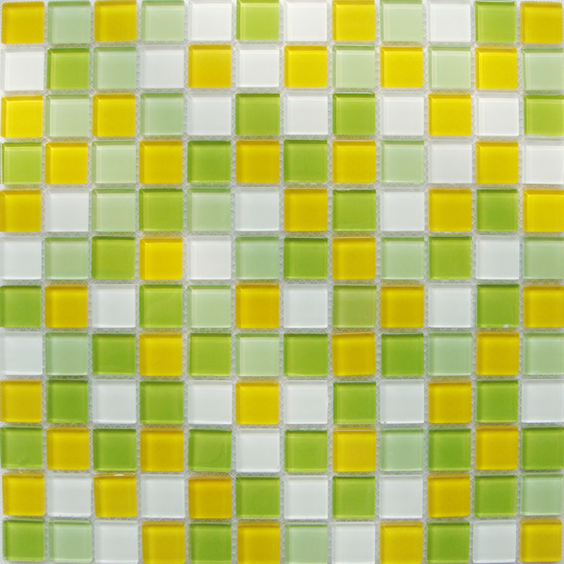 Crystal glass mosaic tiles kitchen backsplash cheap Mosaic tile wall designs