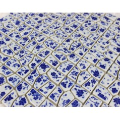Wholesale Porcelain Irregular Mosaic Tiles Design porcelain tile flooring Kitchen Backsplash A--005